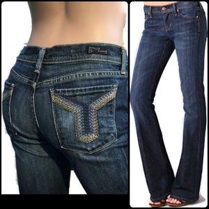 COH Citizens retro flare leg blue jeans 28